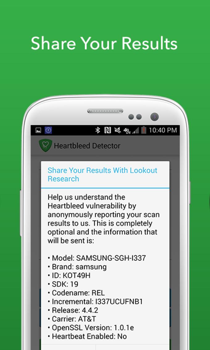 Heartbleed Segurança Scanner