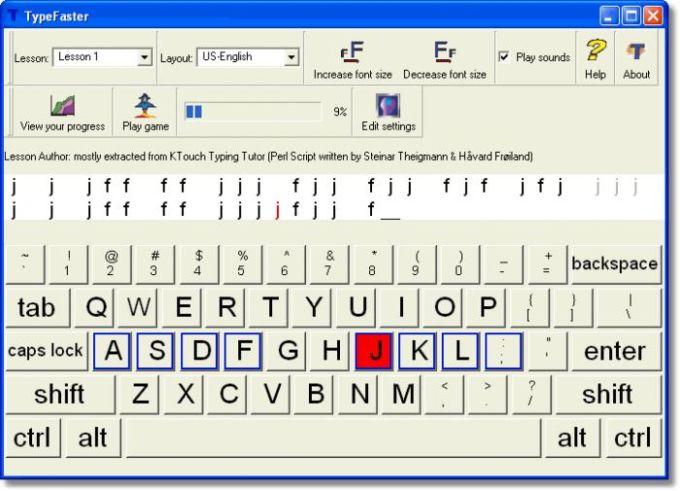 TypeFaster