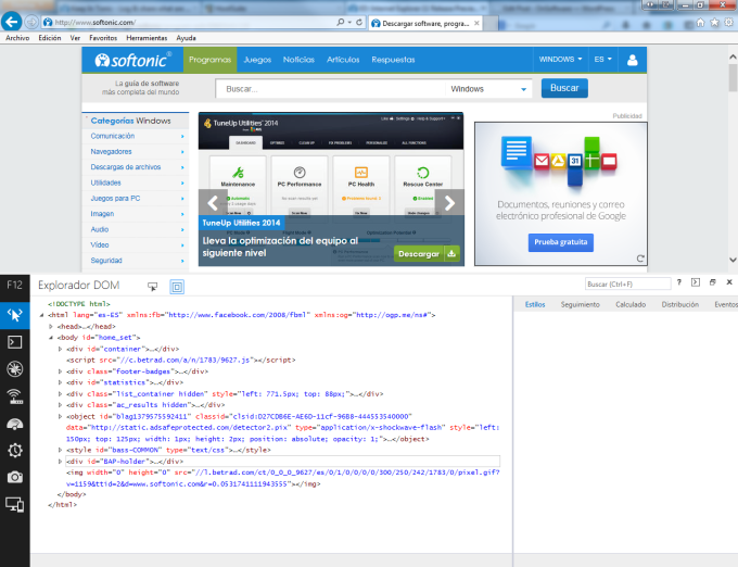 Internet Explorer 11 para Windows 7