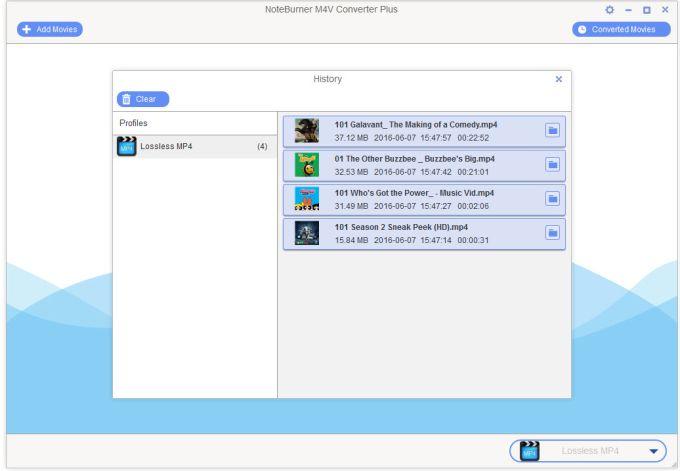 NoteBurner M4V Converter Plus