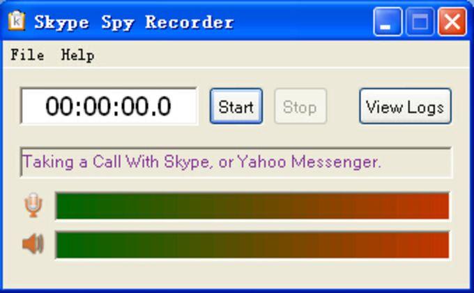 Skype Spy Recorder