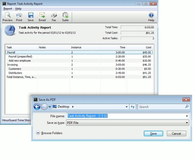 HourGuard Timesheet Software for Mac