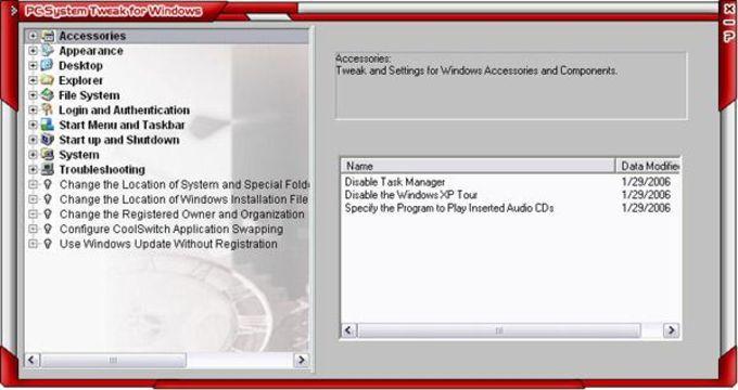 PC System Tweak