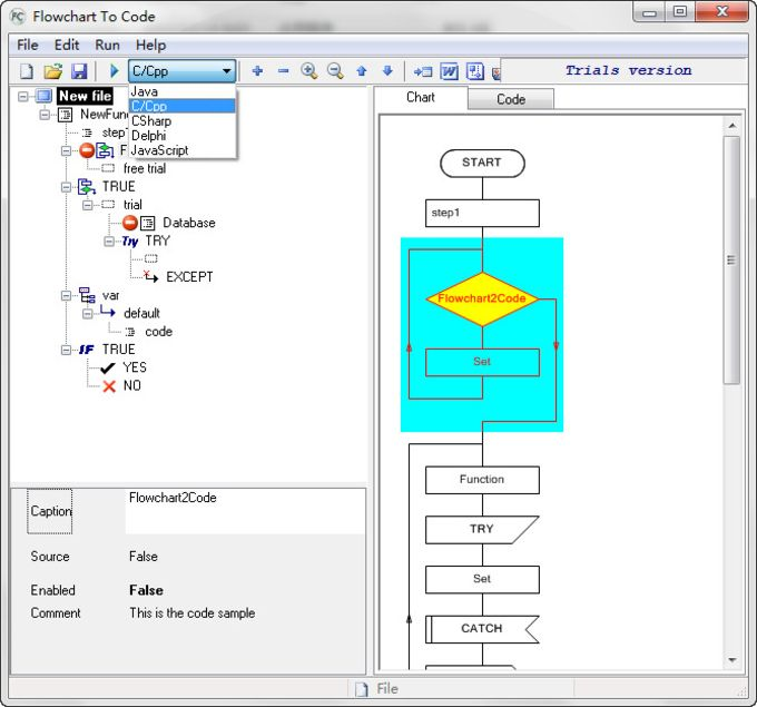 AthTek Flowchart to Code