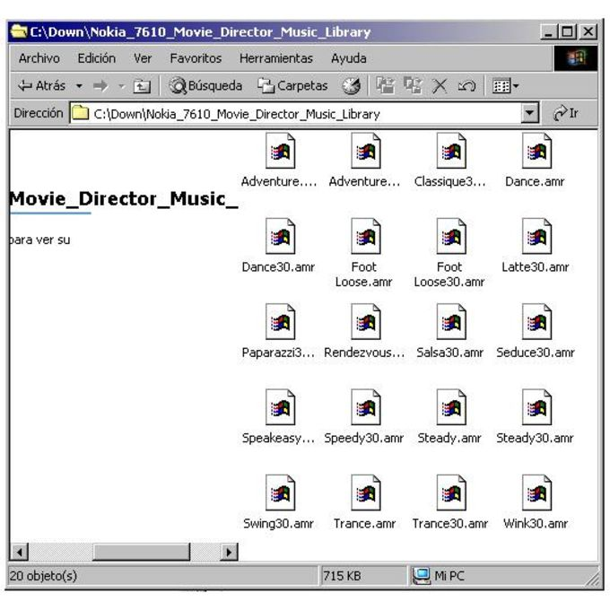 Music Library for Movie Director