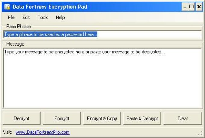 Encryption Pad