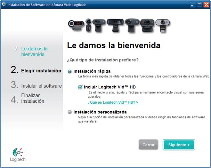 Software de Cámara Web Logitech HD