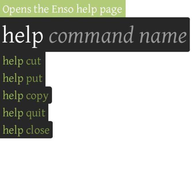 Enso Launcher