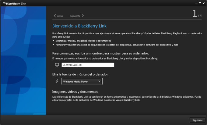 Blackberry link z30 скачать