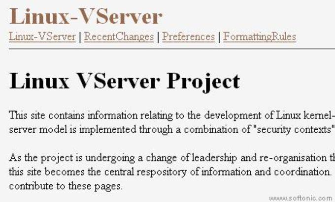 Linux-VServer