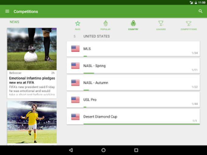BeSoccer - Soccer Live Score