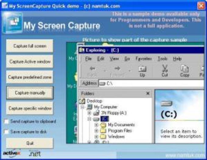 My Screen Capture ActiveX