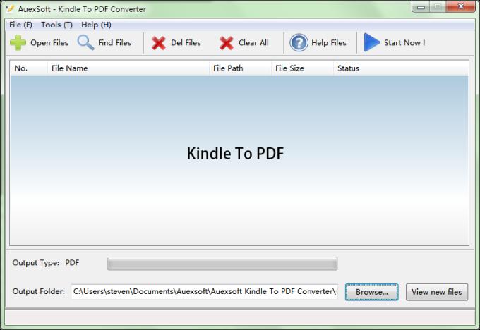 Kindle To PDF
