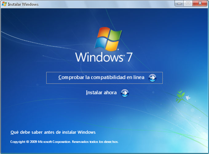 cd de formatação windows 7 ultimate download