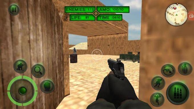 Counter Terrorist Attack Shooter Sniper Mission