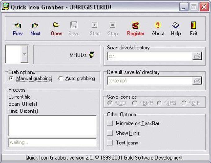 Quick Icon Grabber