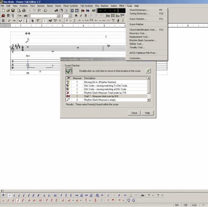 Power Tab Editor