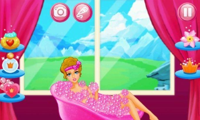Soap Bubble Princess - Spa And Makeover