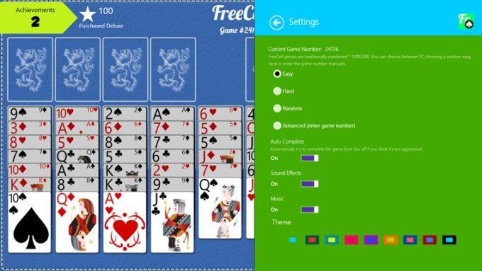 FreeCell Free pour Windows 10