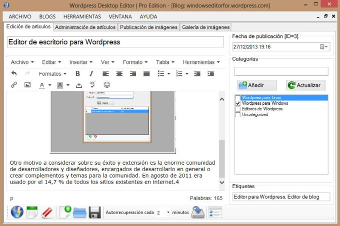 Blogdesktop