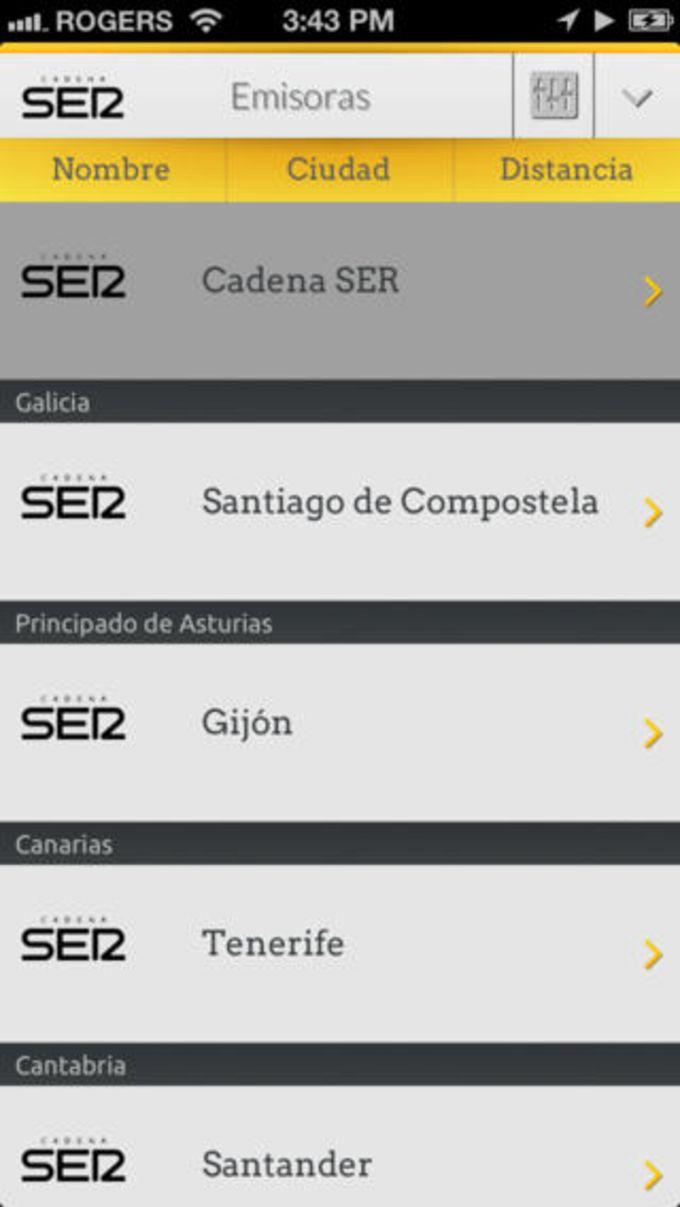 Cadena SER para iPhone