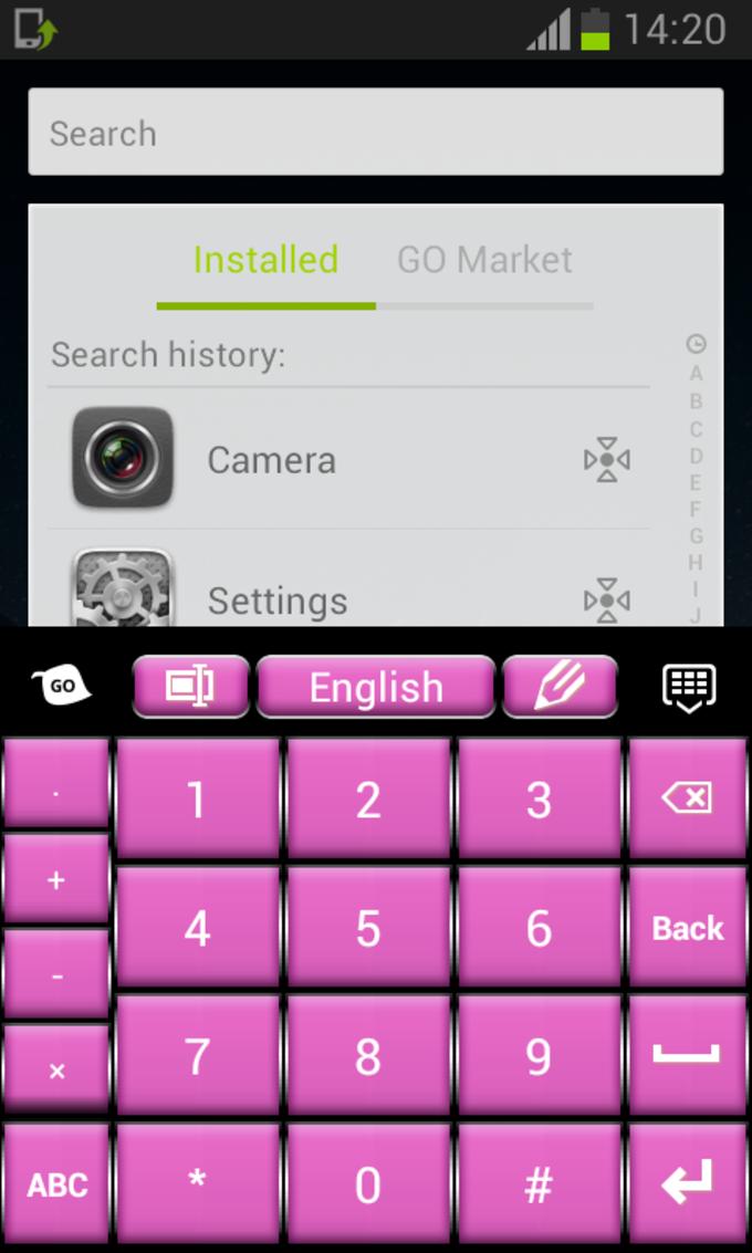 Keyboard Pro Pink