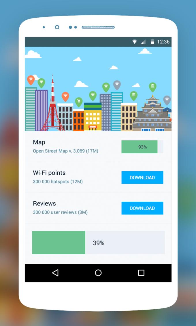 WiFi Tokyo: offline map WiFi