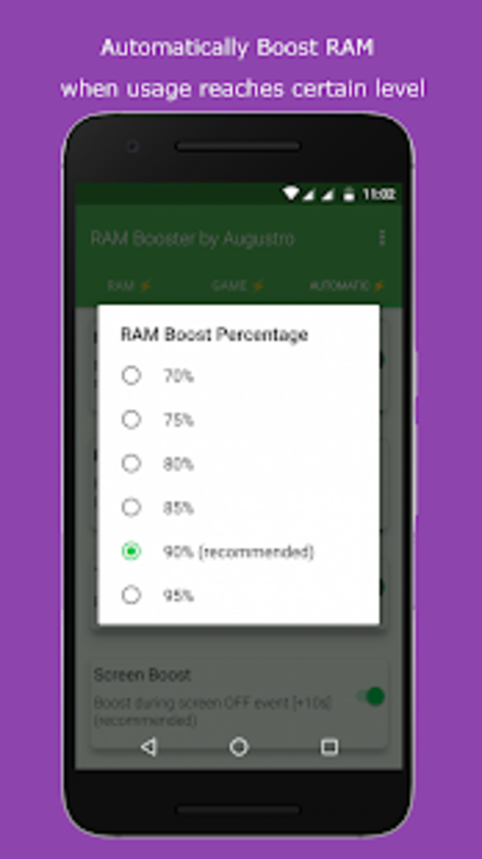 RAM  Game Booster by Augustro