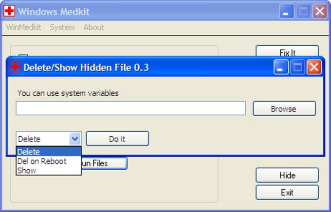 Windows Medkit