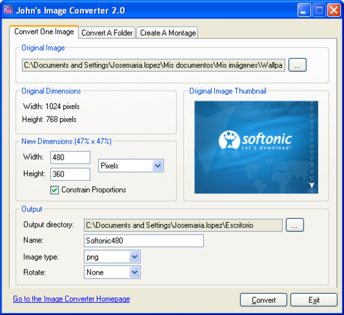 John's Image Converter