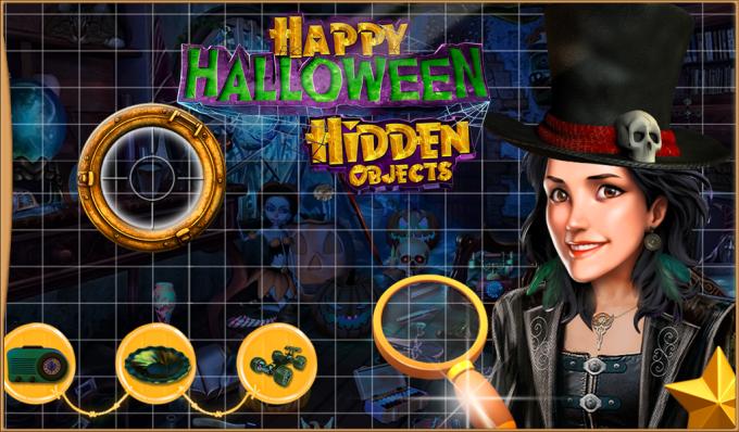 Happy Halloween Hidden Objects