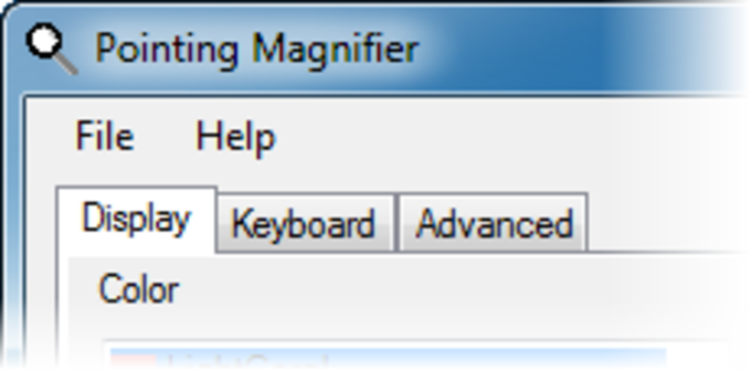 Pointing Magnifier