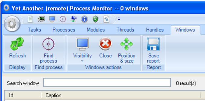 Yet Another (remote) Process Monitor
