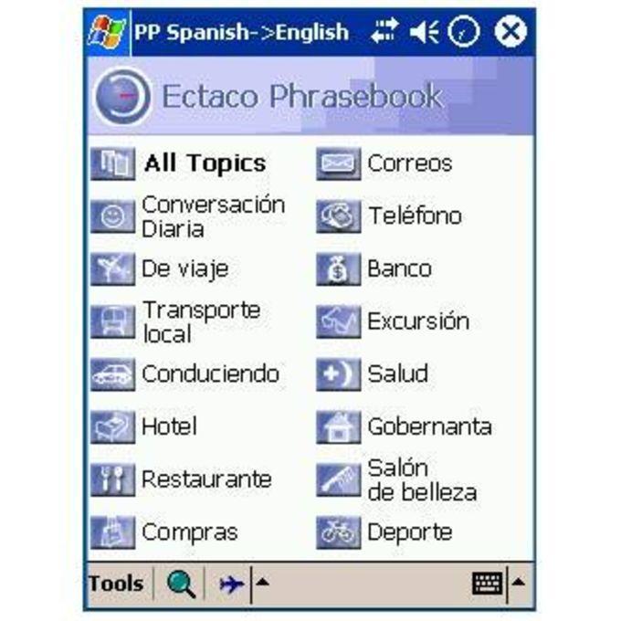 Lingvosoft PhraseBook Spanish-Polish