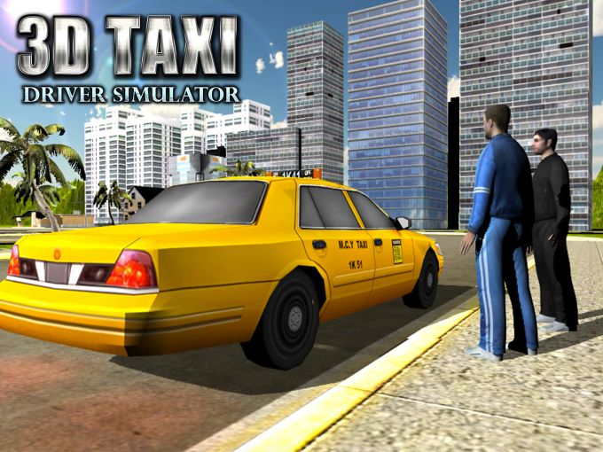 City Taxi Driver 3D Simulator
