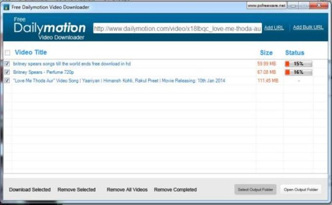 Free Dailymotion Video Downloader