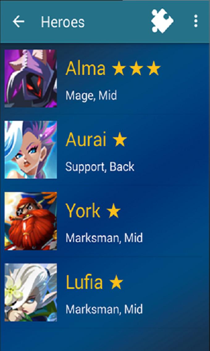 Wiki Magic Rush Heroes - Guide
