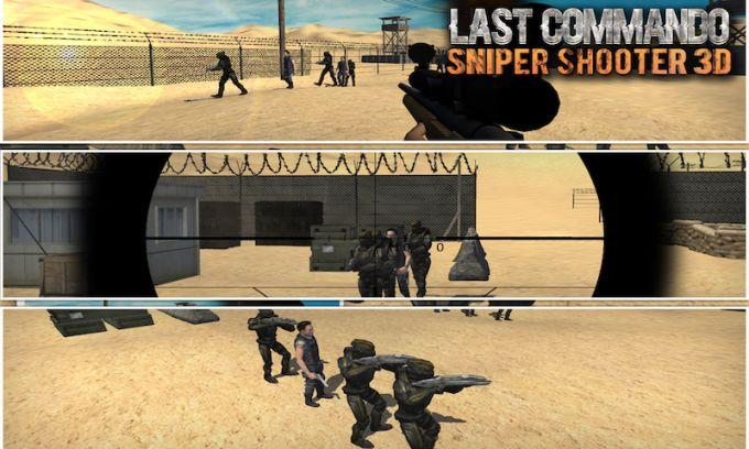 Last Commando: Sniper Shooter