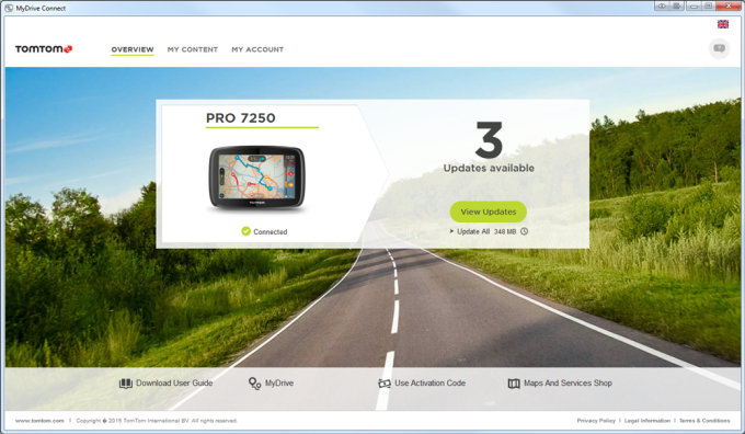 TomTom MyDrive Connect