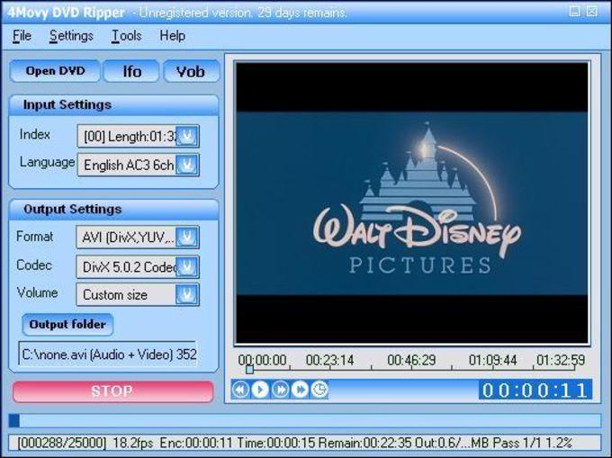4Movy DVD Ripper