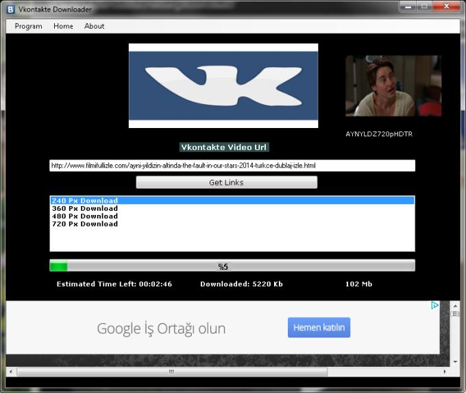 Vkontakte Downloader