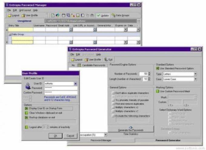Entropia Password Manager & Generator