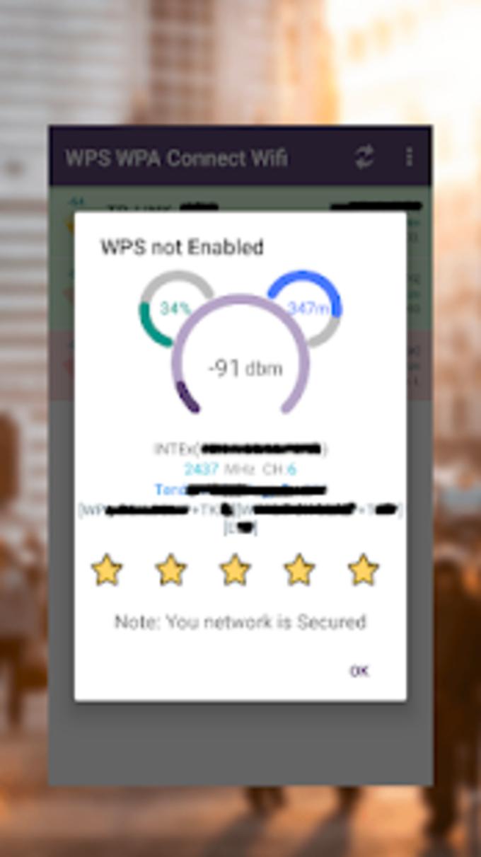 WPS WPA Connect Wifi Pro