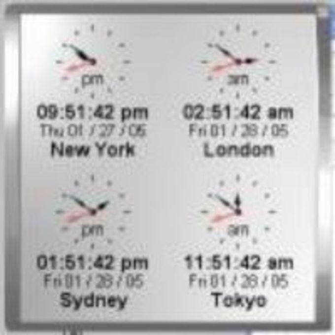 Kybtec World Clock Professional
