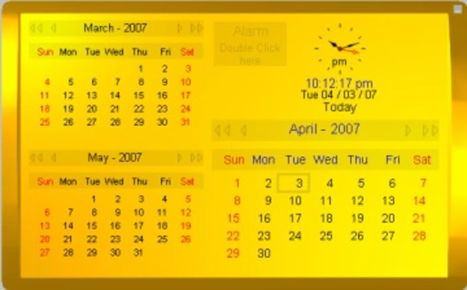 Kybtec Calendar Professional