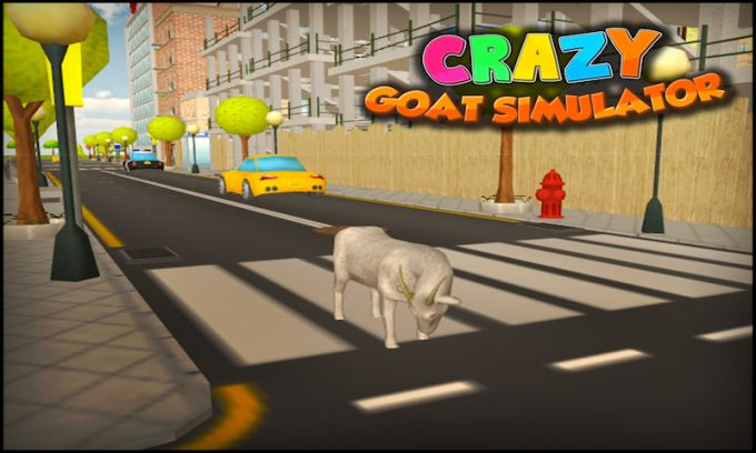 Crazy Goat Simulator 3D