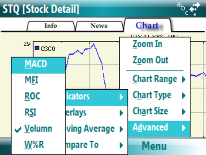 STQ - Stock Ticker & Quotes