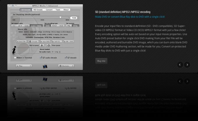 MPEG2 Works Advanced