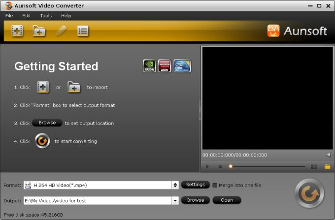 Aunsoft Video Converter
