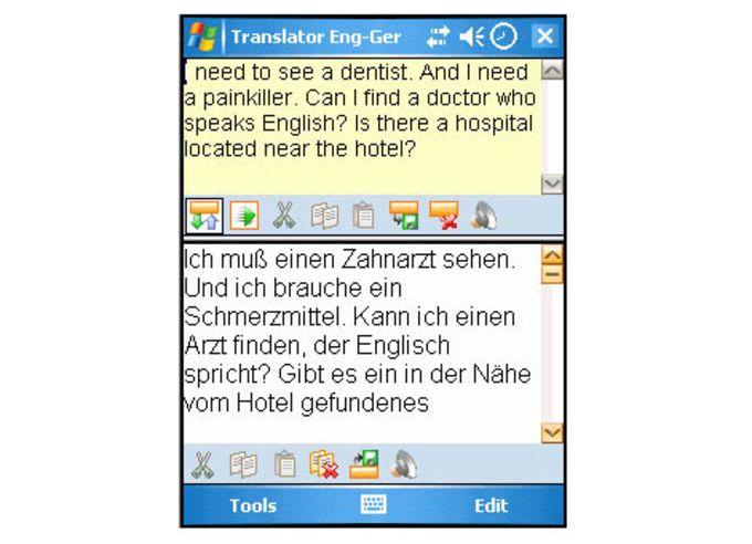 Lingvosoft Translator 2008 Englisch – Deutsch